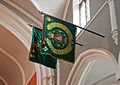 Enniskillen Cathedral of St. Macartin Regimental Colours Royal Irish Regiment IV Faugh A Ballagh 2012 09 17.jpg