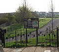 Entrance to Hillyfields Community Park, Parr Avenue - geograph.org.uk - 1521015.jpg