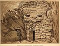 Entrance to Inner Cell, St. Medan's Chapel, Kirkmaiden, Wigtownshire. 1885.jpg