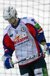 Enver Lisin Russian ice hockey player