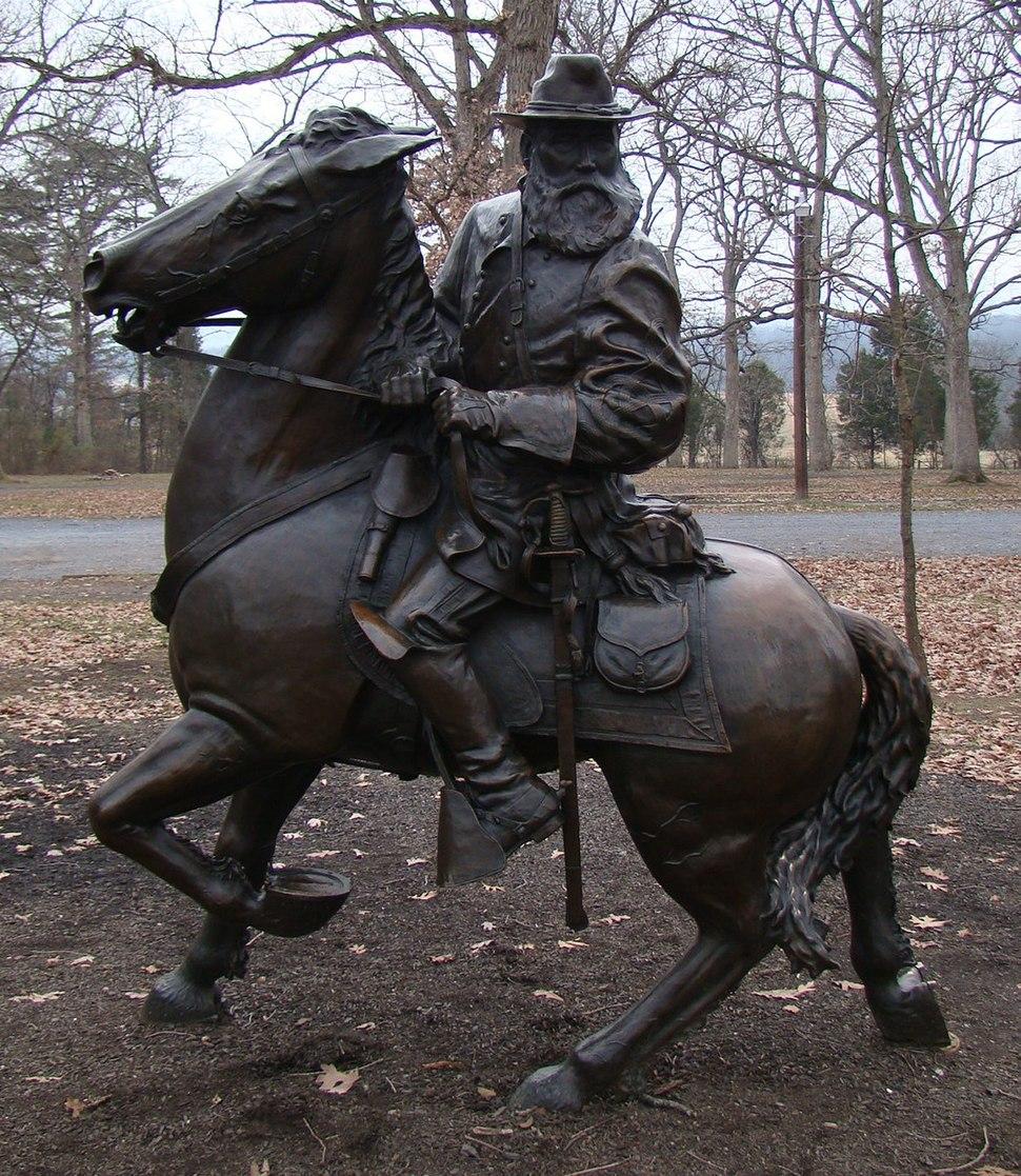 Equestrian statue of James Longstreet
