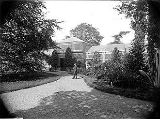 Hortus Botanicus Leiden - Image: Erfgoed Leiden LEI001014798 Kas in de Hortus Botanicus