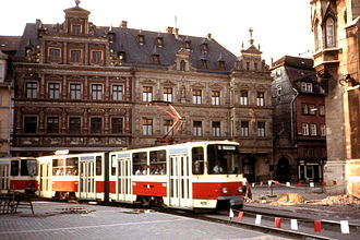 Tatra KT4 - Image: Erfurt, Tatra KT4