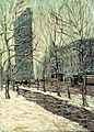 Ernest Lawson - The Flatiron Building, New York (02).jpg