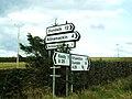 Erroneous signage at Armaghbrague - geograph.org.uk - 1766484.jpg