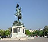Erzherzog-Karl-Reiterdenkmal auf dem Heldenplatz in Wien (Quelle: Wikimedia)