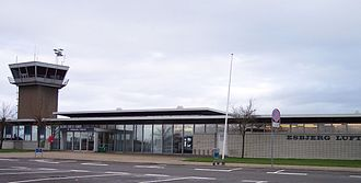 Esbjerg Airport - Image: Esbjerg Airport