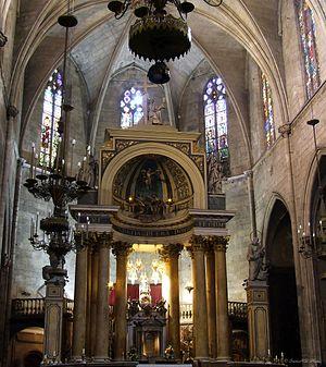 Català: Església de Sant Just i Pastor (Barcelona)