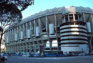 1964 European Nations' Cup - Image: Estadio Santiago Bernabéu 05