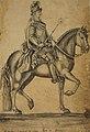 Estatoa equestre de Dom Joze de Portugal, Acervo do Museu Paulista da USP (cropped).jpg