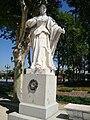 Estatua de Doña Sancha en la Plaza de Oriente.JPG