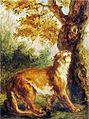 Eugène Delacroix, Le Puma, 1859.jpg