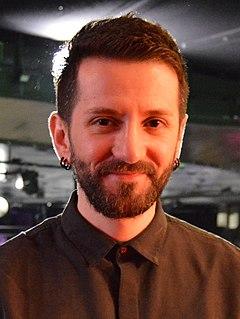 Eugent Bushpepa Albanian singer and songwriter