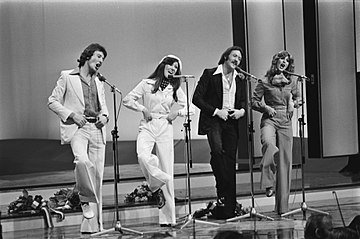 Brotherhood of Man bij hetEurovisiesongfestival 1976