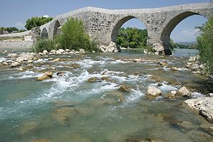 Eurymedon Bridge, Aspendos, Turkey. Pic 01.jpg