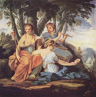 Purgatorio - Canto I: Dante begins the Purgatorio by invoking the Muses