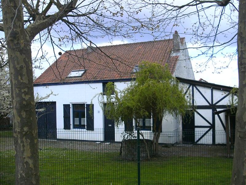 """Fermette dite """"du Geuzenberg"""" et musée de la witloof à Evere. Date de construction: 1891"""