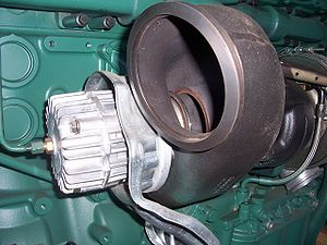Exhaust brake - Image: Exhaust brake governor