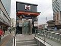 Exit 8 of Hubin East Rd Station.jpg