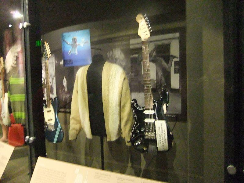 File:Experience Music Project, Science Fiction Museum, Seattle - Kurt Cobain (9444439315).jpg
