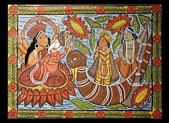 Pattachitra - Patachitra of Naya village