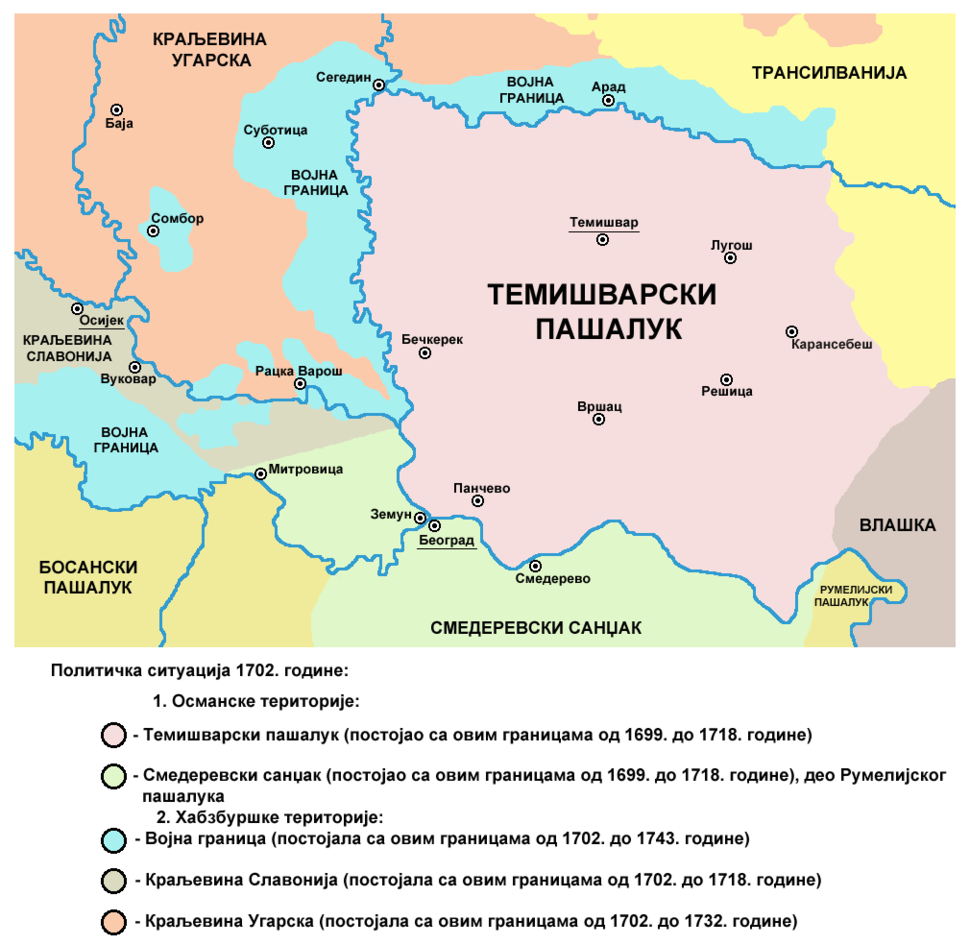 Eyalet of temesvar1699-sr