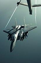 F-15 wingtip vortices