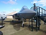 F-35 Lightning II mock-up on display at the 2015 Australian International Airshow.jpg