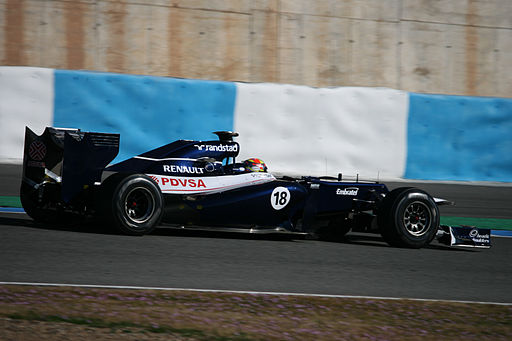 F1 2012 Jerez test - Williams