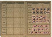 FDGB-Mitgliedskarte von 1948 Innenseiten