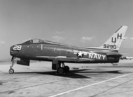 FJ-4 VU-7 at NAAS Brown Field 1960.jpeg