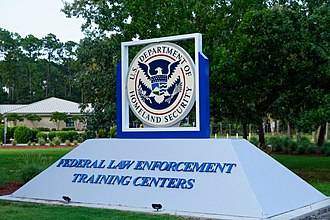 Federal Law Enforcement Training Centers - Image: FLETC sign 2018