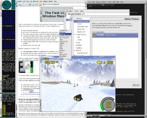Screenshot of Fast Light Window Manager