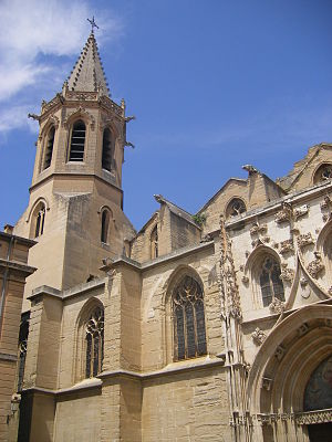 Papal conclave, 1314–16 - The Carpentras Cathedral, where the conclave began
