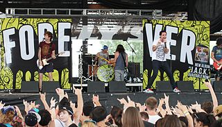 Forever the Sickest Kids American pop punk band from Dallas, Texas