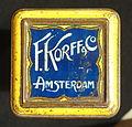 F Korff & Co Amsterdam cacao blikje, foto1.JPG