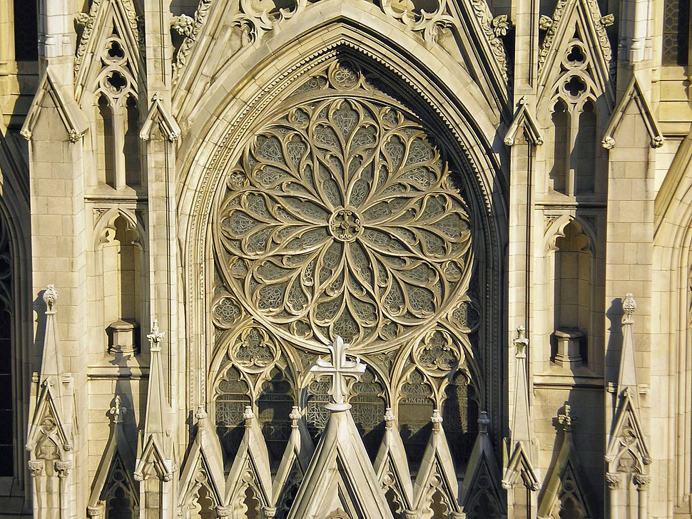 Facade of Saint Patrick%27s by David Shankbone