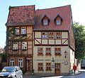 Fachwerkhaus in Altstadt Qudlinburg. IMG 2081WI.jpg