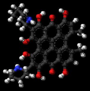 Fagopyrin - Image: Fagopyrin 3D ball