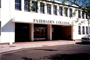 Fairbairn College - Main entrance