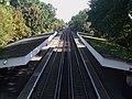 Falconwood station high eastbound.JPG