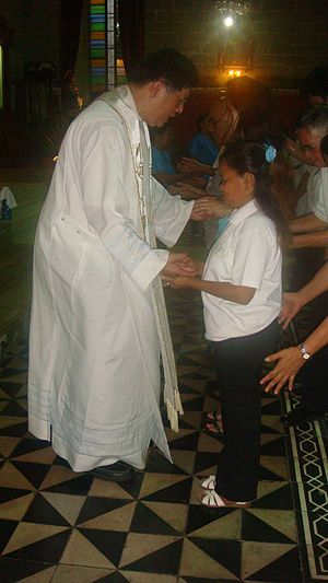 Faith healing - Faith healing by Fr. Joey Faller, Pulilan, Bulacan, Philippines
