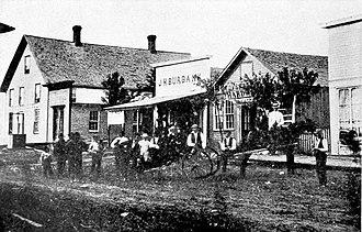 Falls City, Nebraska - Image: Falls City, Nebraska (1868)