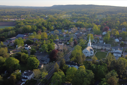 Farmington, Connecticut by drone, May 2020