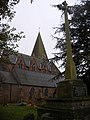 Farnsfield Church and War Memorial - geograph.org.uk - 1590513.jpg