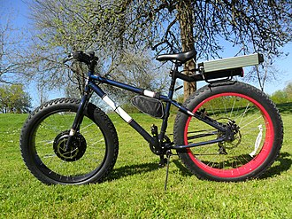 Electric bicycle - Fat Tire Bike by Ensey Motorized Bikes