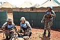 Female combat troops of South African Contingent in MONUSCO on robust foot and moblile patrols 77.jpg
