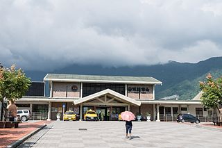 Fenglin railway station Railway station located in Hualien, Taiwan