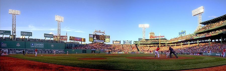 Fenway Park During A 2010 Game Vs The Philadelphia Phillies