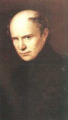 Ferenc Kölcsey, author of the lyrics of the Hungarian national anthem.